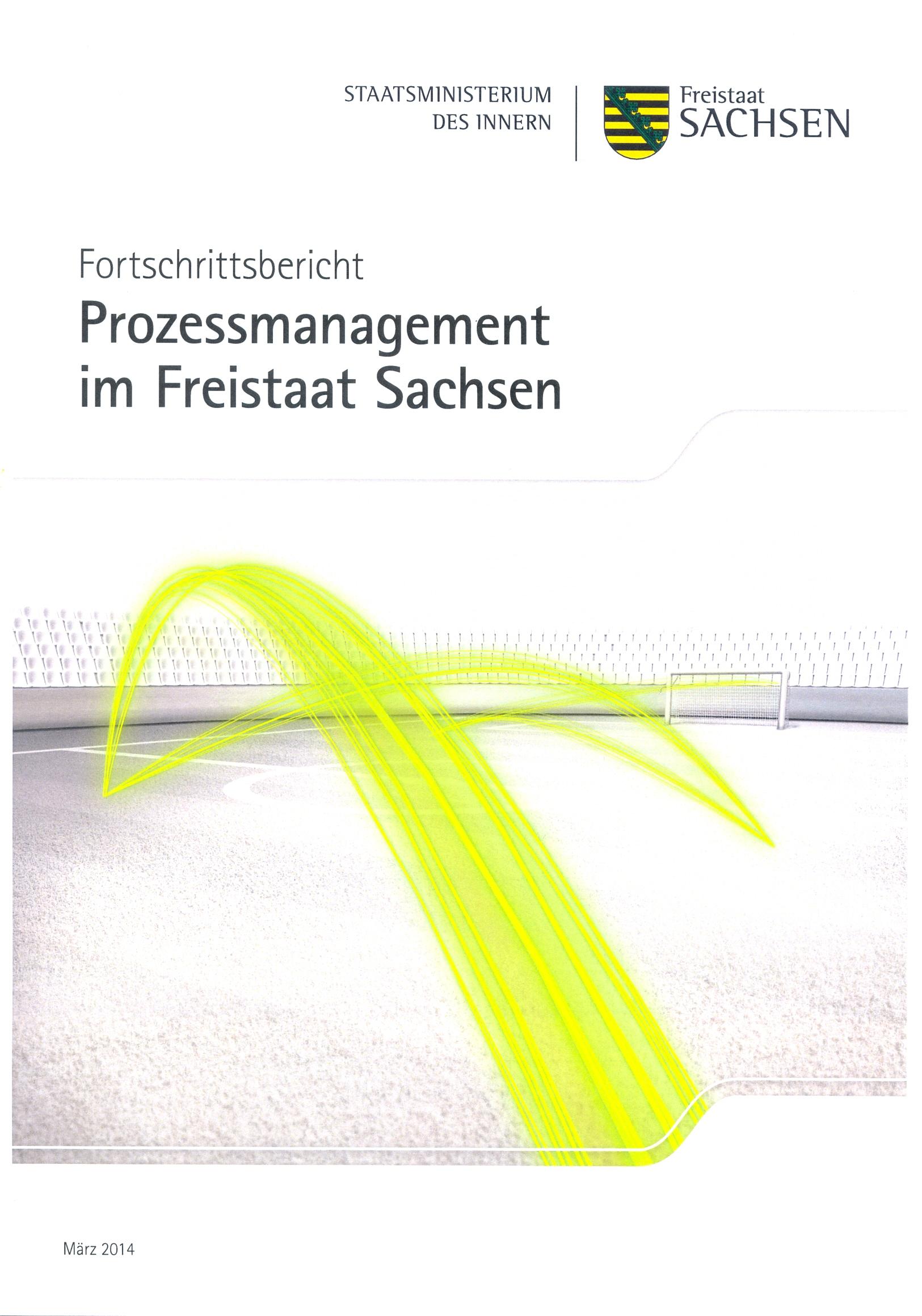 Fortschrittsbericht Prozessmanagement im Freistaat Sachsen